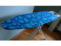 """IRONING BOARD LIGHTWEIGHT HARDLY USED EXCELLENT CONDITION SIZE 44"""" LENGTH BY 13.5"""" WIDE"""