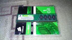 Corsair 1GB Memory DDR2 667MHz - New