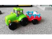 Kids toy- tractor