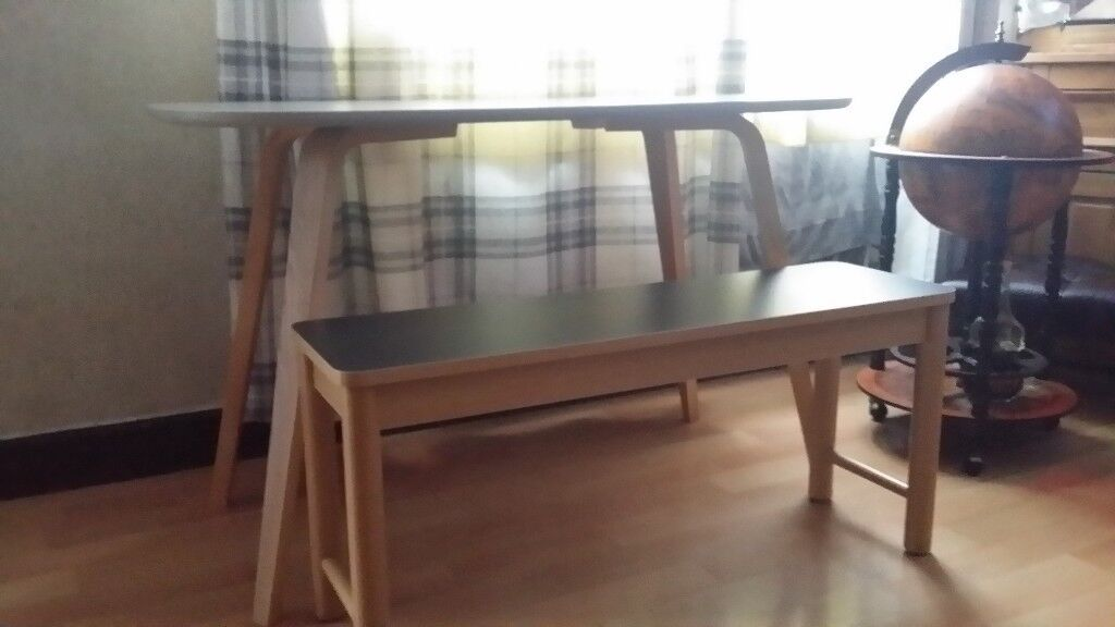 Enjoyable John Lewis Bench And Desk In Whitefield Manchester Gumtree Theyellowbook Wood Chair Design Ideas Theyellowbookinfo