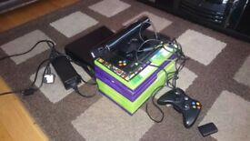 Xbox 360 with Kinect and Drawing Pad (U Draw) & Two Controllers