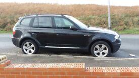 BMW X3 Turbos gone