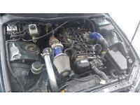 LEXUS IS200 FULLY TURBO CONVERTED DRIFT PROJECT SPARES OR REPAIRS