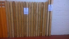 2.4m Fence posts (2 sizes available)