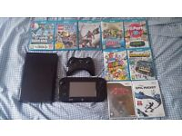 Wii U w/ Pro Controller and over 10 Games