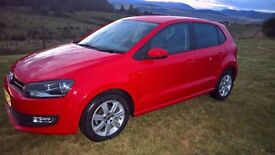 2014 Volkswagen Polo Match Edition Red 1.2L Petrol *Great First Car* **QUICK SALE**
