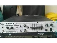 Peavey T-Max 500 watt valve/solid state bass amp