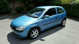 Vauxhall Corsa Club. 16v. 1.2L. 59,000 genuine miles. Not Ford Peugeot Honda Toyota Mazda