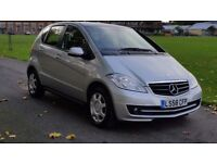 MERCEDES A150 CLASSIC SE 58 PLATE 2008 2 PREVIOUS OWNER 78000 MILES VOSA HISTORY AIRCON MANUAL 5DR