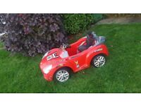Red Electric Car for Toddler