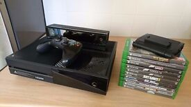 Xbox One 1TB console 10 games and Kinect sensor