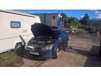 breaking vauxhall astra mark 5 1.9 diesel sri all parts available