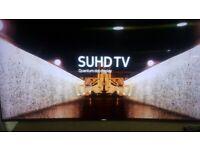 Samsung 65inch Cinema Screen Super 4K HDR Premium SUHD Quantom Dot Smart Curved TV Slim