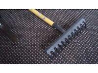 Garden Toolset (Headge Shears, Pruner, twig Cutters, Rake )