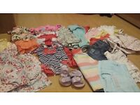 Girls bundle 9-12 months summer holiday clothes