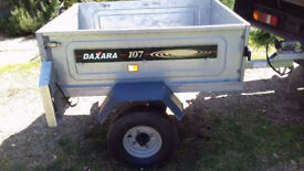 DAXARA 107 TRAILER WITH COVER