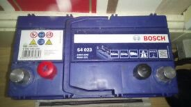 Brand New BOSCH Car Battery 2 Weeks Old