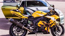 Yamaha R6 Limited Edition V ROSSI £2800 ONO ( Will swap or exchange for a car )