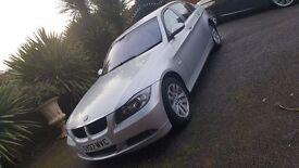 BMW 320D SE 2007 SILVER 84K MILES NOT Not a 118D 120i 120D 318i 318D 320i 325i 330i 330D 520i 520D