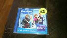Frozen sing along cd