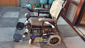 Spectra Plus powered wheelchair, excellent working order
