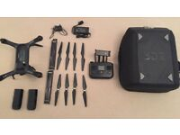 3DR Solo Drone Bundle | 3 axis Gimble | 2 Batteries | Backpack