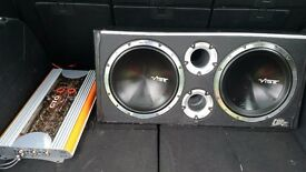 vibe subs and amp