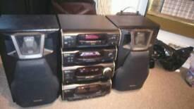 Technics separates stereo