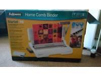 Home comb binder