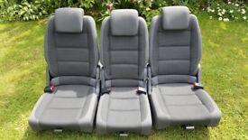 VW Touran rear seats