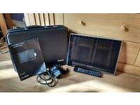 Caravan Digital TV/DVD Combo and Satellite Antenna Kit