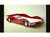 Red Racing Car Bed