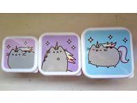 Cute Pusheen Unicorn Storage Pots