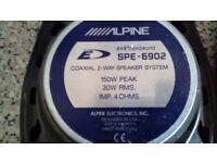 Alpine 6x9 speakers