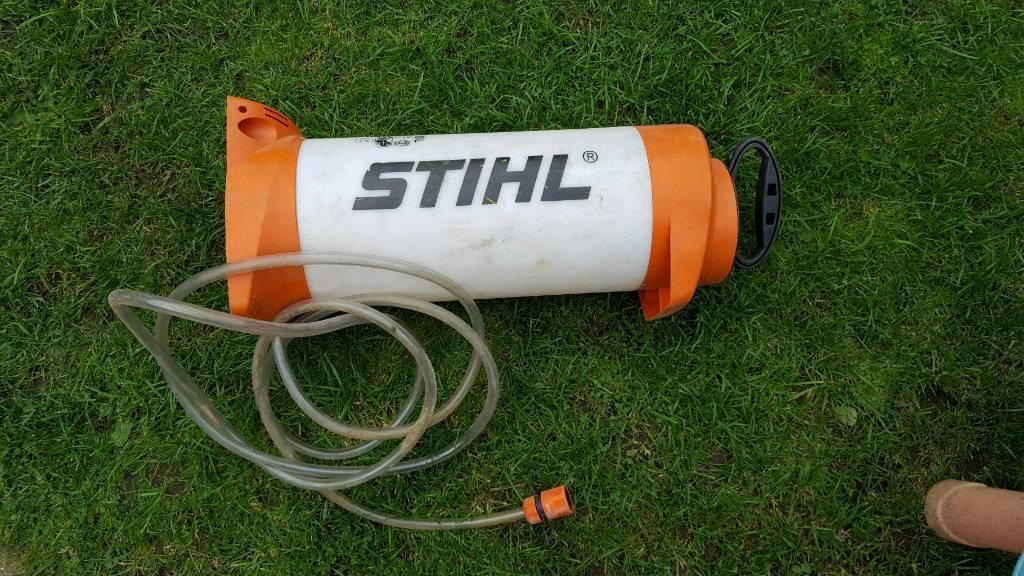 Stihl dust suppression water botle