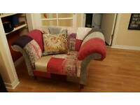 DFS sofa and arm chair