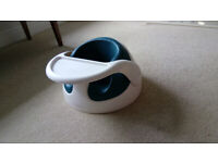 Mamas and Papas Bumbo with tray and toy attachment