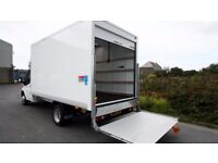 24/7 MAN AND VAN WITH TAIL LIFT REMOVAL SERVICE HOUSE+ OFFICE +FLAT +BIKE +PIANO REMOVAL
