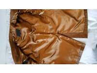 Ciro Citterio Brown leather jacket