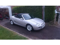 2001 MG MGF 1.8 Convertible Sports Car. Spares Or Repaires. Had New Clutch
