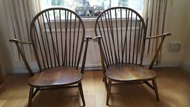 Ercol Windsor backed chair