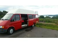 Ford Transit Camper Van, Long MOT, Low Miles