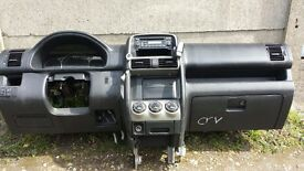 Left hand drive dashboard Honda CR-V