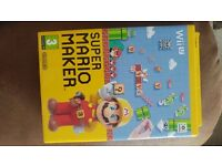 Super Mario Maker Wii U (game + hardback book!)