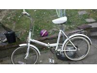FOLD UP BIKE/BICYCLE