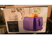 Lilac toaster two slice