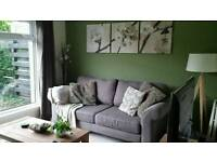 Grey 3 & 2 Seater Sofas