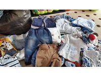 Baby boys clothes bundle.0-3 months