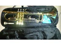 JTR-600M JUPITER Trumpet - c/w Case + Cloth - Very Good Condition