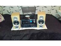 Amp+Turntable+Speakers